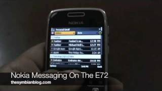 email nokia messaging on the nokia e72
