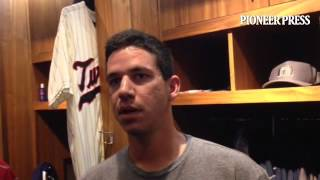 Video: Tommy Milone after being optioned to @RocRedWings to make room for Ricky Nolasco.