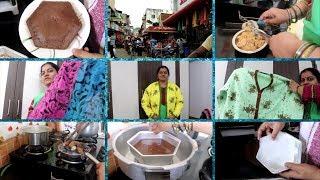 #DIML//Yummy Chocolate Cake//Small Shopping Vlog//RAMA SWEET HOME
