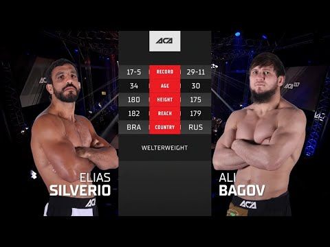 Али Багов – Элиас Сильверио / Ali Bagov vs. Elias Silverio