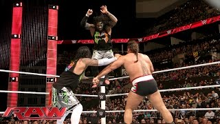 The Usos vs. Alberto Del Rio & Rusev: Raw, January 4, 2016