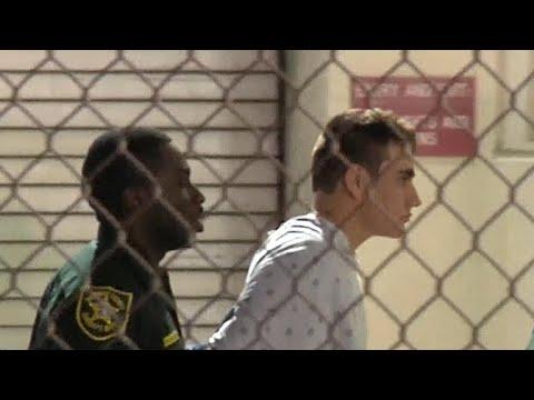Florida shooting suspect Nikolas Cruz ordered held without bond