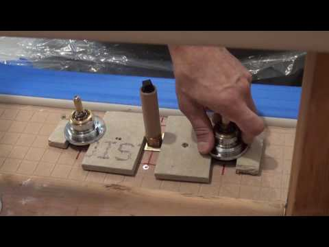 how-to-mount-deck-tub-faucet.-bathroom-remodeling.-part-13.