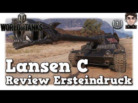 World of Tanks - Lansen C,  Review, Ersteindruck, Vergleich [deutsch] thumbnail