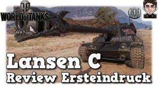 World of Tanks - Lansen C,  Review, Ersteindruck, Vergleich [deutsch]