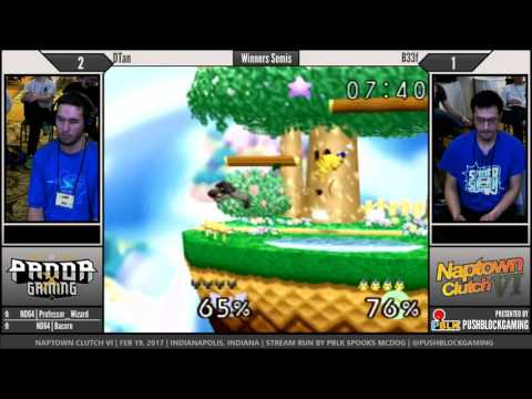 NCVI [64] - DTan (Captain Falcon) vs B33f (Pikachu) - Winners Semis