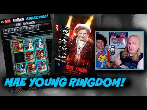 Mae Young Ring Domidimdum! : WWE SuperCard S3 Ep84