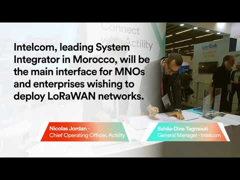 Intelcom signs deploys LoRaWAN in Morocco with Actility