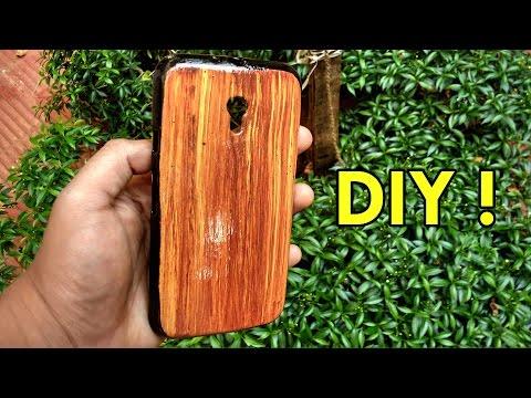 DIY Wooden Phone Case !