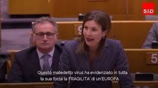 """Intervento in aula di Alessandra Moretti sulla """"Risposta coordinata europea all'epidemia di COVID-19"""""""