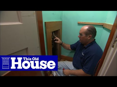 How To Install A Pressure Balance Shower Valve This Old House You