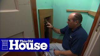 How to Install a Pressure-Balance Shower Valve - This Old House