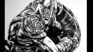 Elder Scrolls V Pen Drawing (Skyrim)