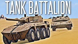 Скачать TANK BATTALION ArmA 3 Tanks DLC Operation