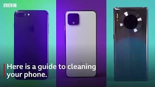 Coronavirus: How to clean your phone