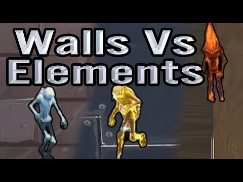 Fortnite | Walls and Elemental Husks | Damage difference | Down to earth testing