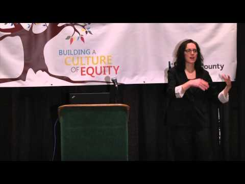2014 Equity & Social Justice Annual Forum with Rachel D. Godsil