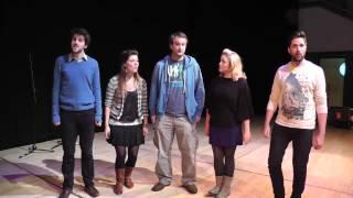 Swingle Singers - Jingle Bells (for Cheltenham Music Festival)