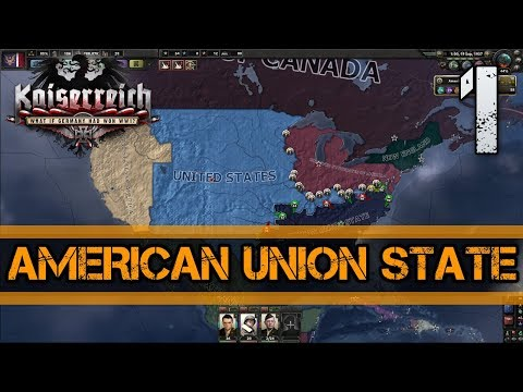 Hearts of Iron 4 | Kaiserreich | American Union state: part 1