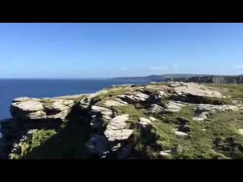 "Bike & Golf Tour - Cornwall - Tag 04 - ""Sightseeing at Tintagel"""