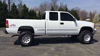 2001 GMC SIERRA 1500 LIFTED ROUGH COUNTRY MICKEY THOMPSON FREDERICKSBURG VA