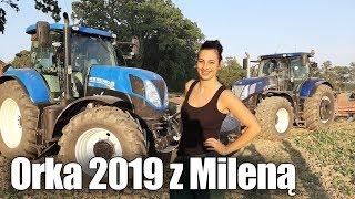 Orka 2019 Z Mileną ! ☆2x New Holland ☆GR Gawrych Blue Power