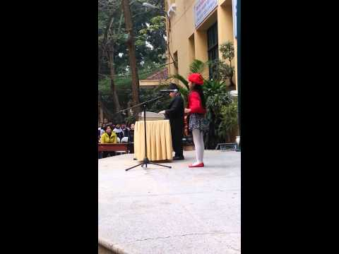 Sinh hoạt dưới cờ lớp 3H Trưng Vương 2012