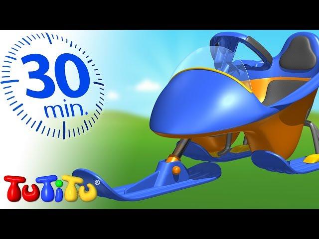 Zabawki dla maluchy | Sanki | 30 minut | TuTiTu po polsku