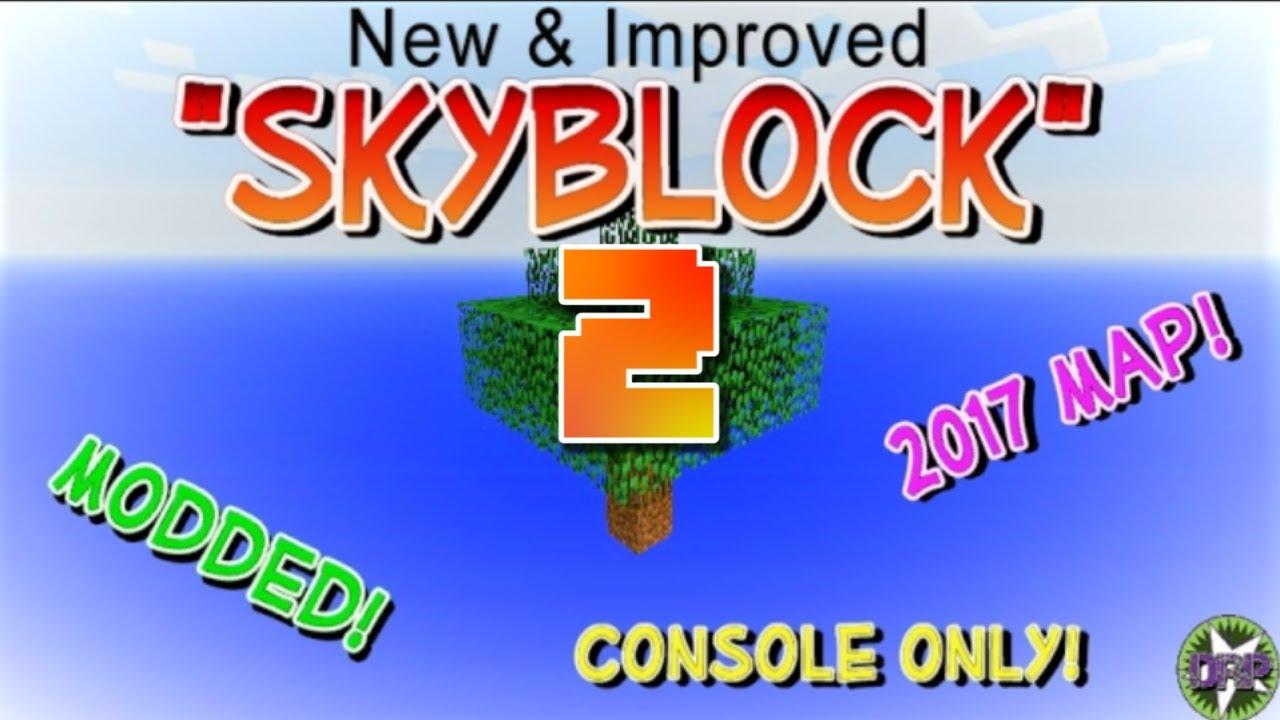 Minecraft Skyblock Map WDownload YouTube - Minecraft maps skyblock 1 11 2
