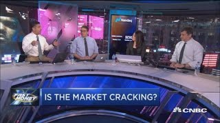 Cracks in the market are spreading and it could be pointing to a market meltdown