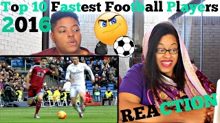 Top 10 Fastest Football Players 2016 ● HD REACTION!!!