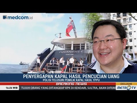 Indonesia seize luxury yacht Equanimity sought in 1MDB probe