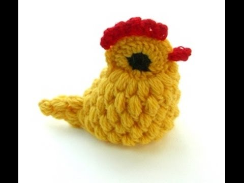 Really Cute Crocheted Chick Hackovana Slepicka Youtube