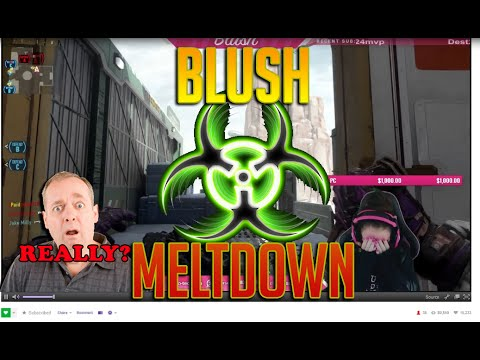 Blush tK Twitch Meltdown $800+ donation @blush_tk @team_kaliber