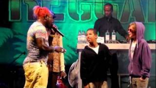 Elephant Man - Gully creepa / Kids on stage (live @ Reggae Jam Festival Bersenbrück 2011)
