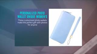 Personalized Photo Wallet Unique Women's Purse