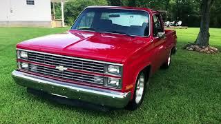 Video BIG RED - 1984 Chevy Silverado C10 - T01 download MP3, 3GP, MP4, WEBM, AVI, FLV April 2018