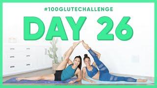 Day 26: Parachuter Legs! | 100 Glute Challenge w/ Kylie Shea