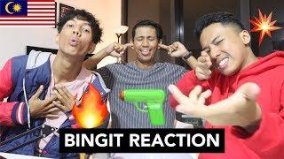 BINGIT - MADDAYZ (Carlolito Disstrack) - MALAYSIAN REACTION