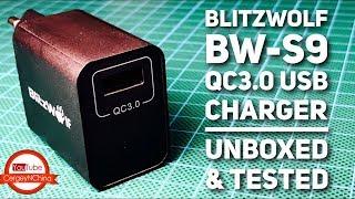 Blitzwolf QC3.0 USB Супер зарядка и немного Трёпа!