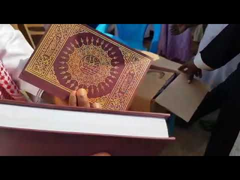 Qur'an distribution in ghana