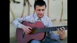 Dato Sadunishvili. gaseirneba yarabagshi (guitar lesson)
