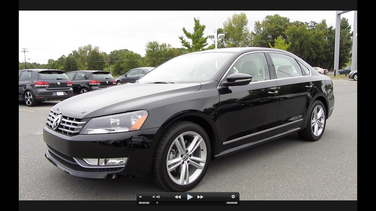 2012 volkswagen passat sel tdi start up engine and in depth tour youtube. Black Bedroom Furniture Sets. Home Design Ideas