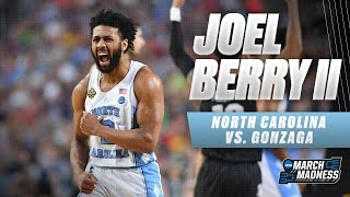 North Carolina vs. Gonzaga: Joel Berry II scores game-high 22 points!