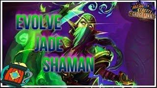 Hearthstone : Deck Tech Evolve Jade Shaman Mean Streets of Gadgetzan