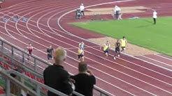 Tähtikisat Tampere 2018 M 100m finaali