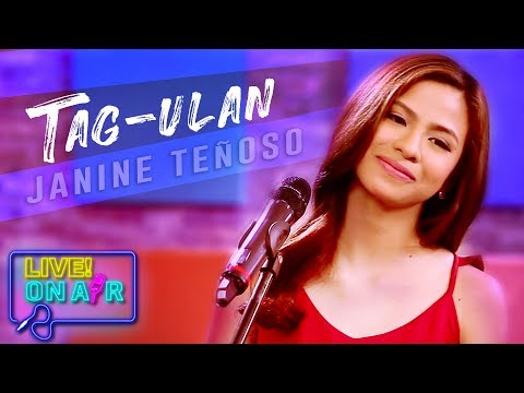 Janine Teñoso — Tag-Ulan (After Image Cover) | LIVE! On Air