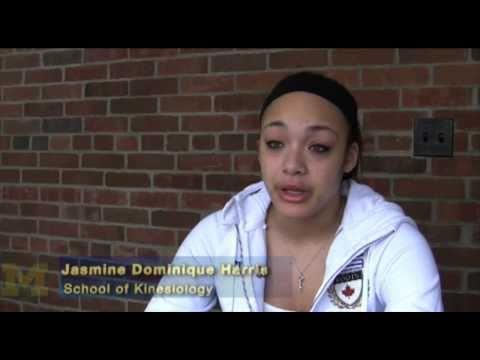 Jasmine Dominique Harris - Henry Ford CC transfer student- undergraduate, School of Kinesiology