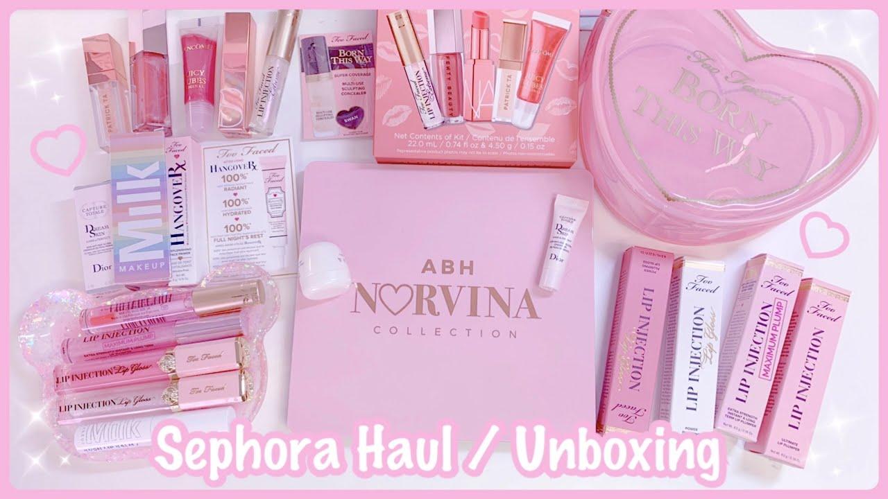 Sephora Haul/Unboxing