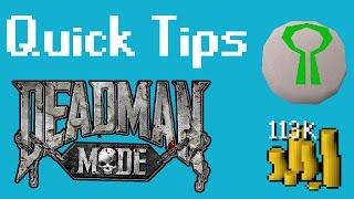 Deadman Mode Quick Tips - Easy Starting Cash